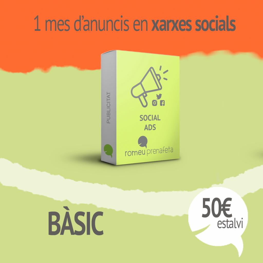 Social ADS, publicitat en xarxes socials