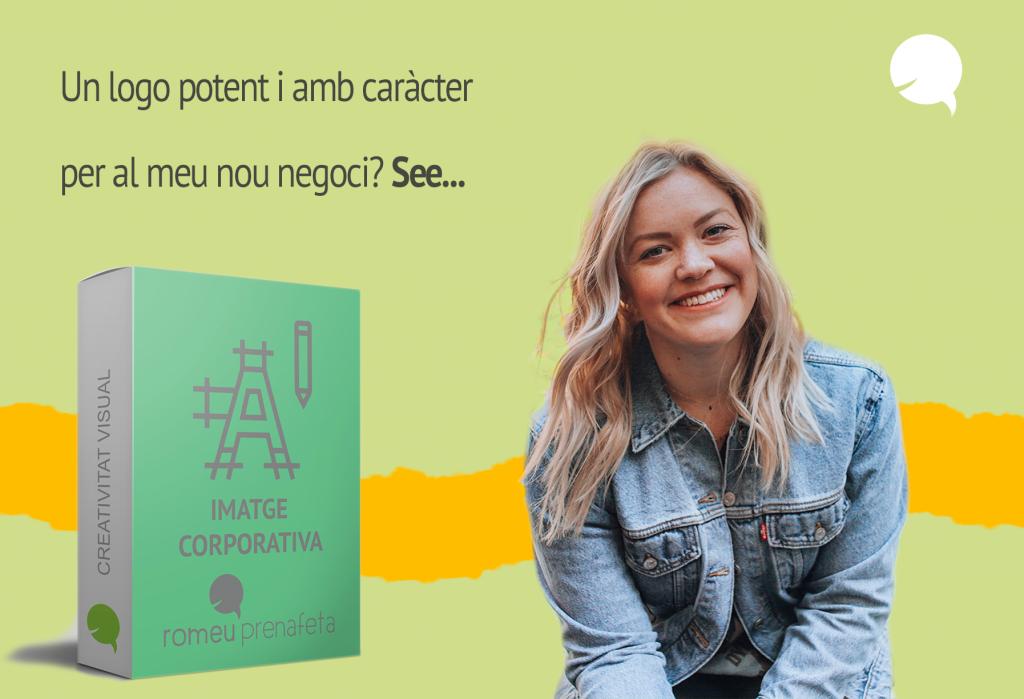 Disseny de logo i imatge corporativa Romeu Prenafeta