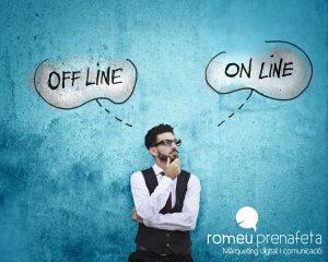 24 estratègies: Connexió online i offline