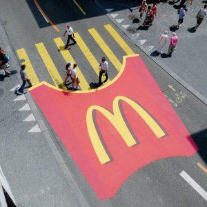 Street marketing mcdonald
